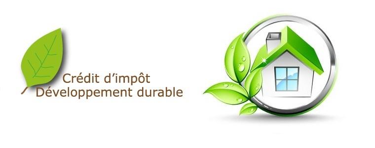 Crédit impot développement durable