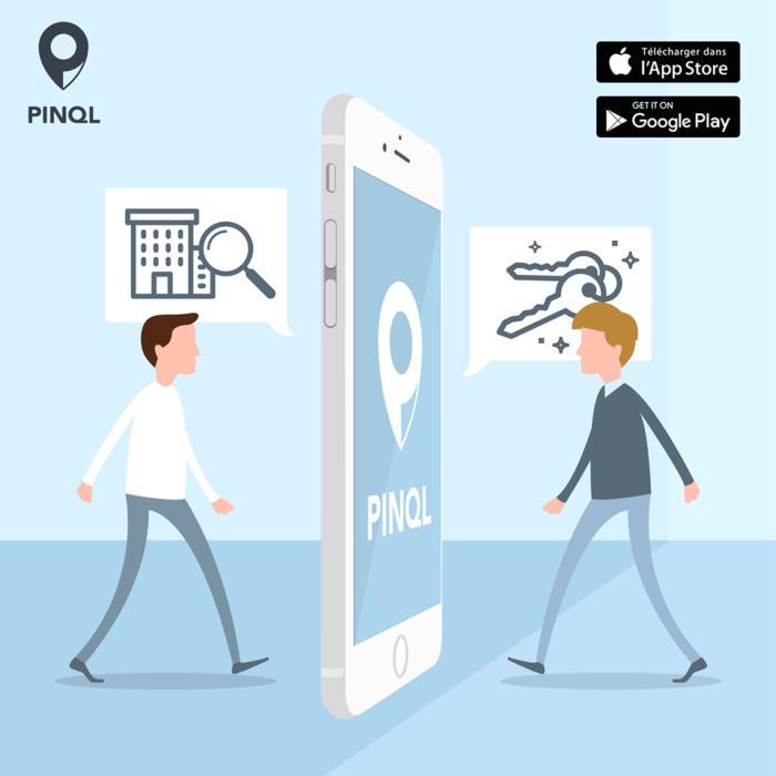 """Application pinql : le """"Tinder"""" de l'immobilier"""